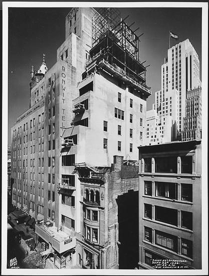 Bonwit Teller expansion.