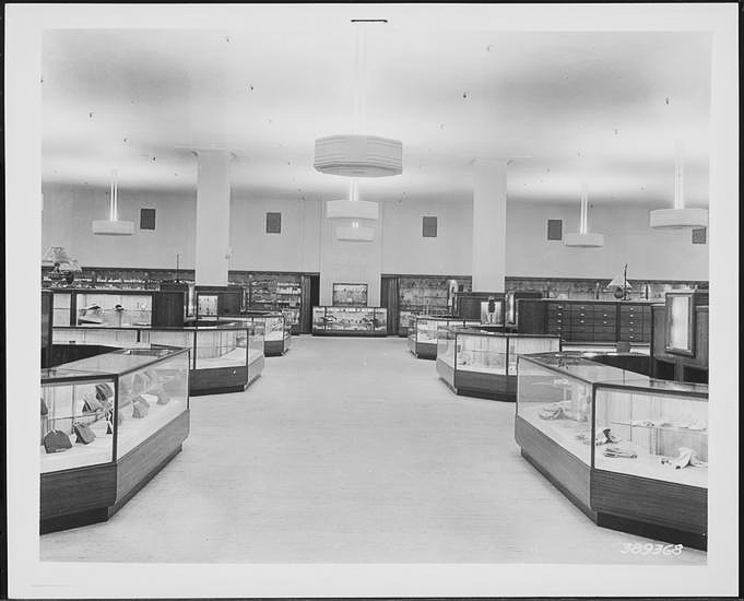 Bonwit Teller main floor redesign.