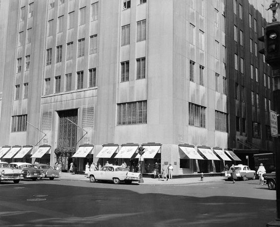 Bonwit Teller in the mid-1950's.