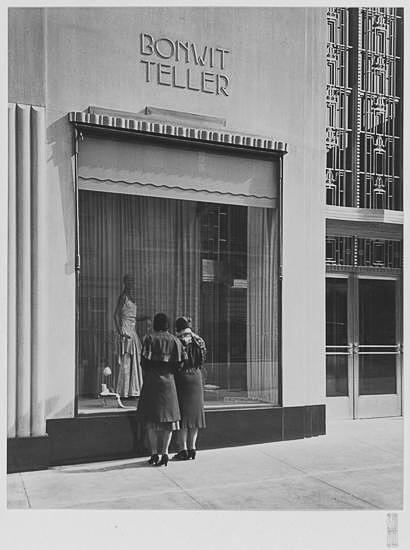 Bonwit Teller show window