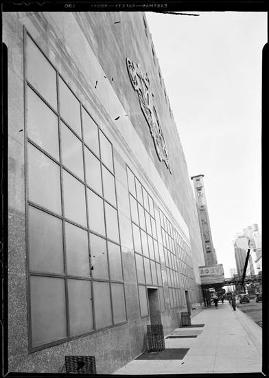 R-K-O Roxy 49th Street Facade. 1932