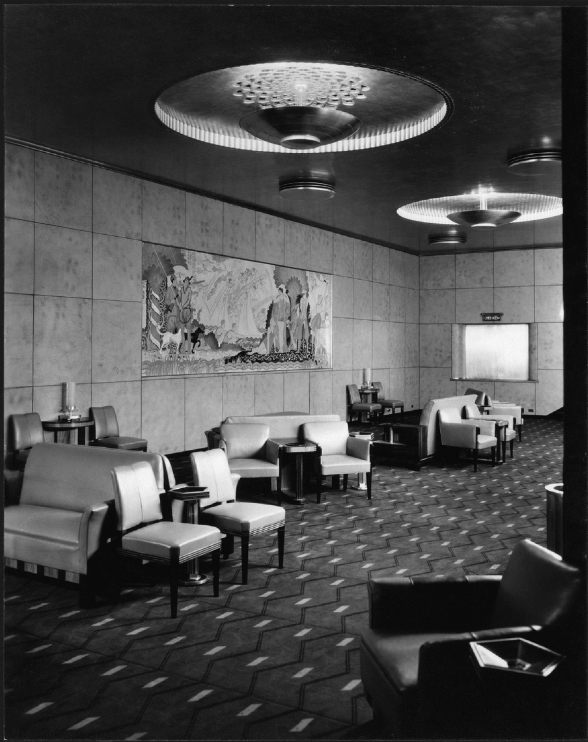 The Grand Lounge, 1932.