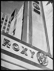 R-K-O Roxy marquee detail