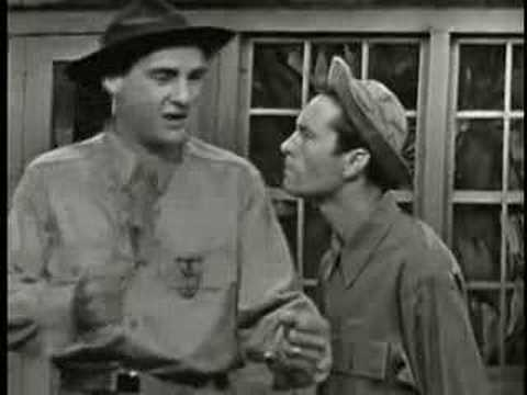 From Here to Obscurity skit with Sid Caesar and Howard Morris.