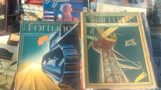 Two Fortune Magazines, late 1930's/