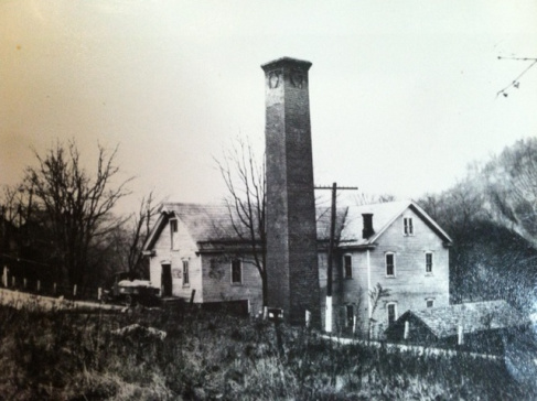 The old grist and saw mill.