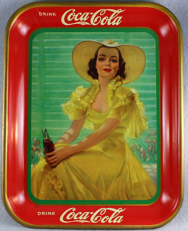 1938 Coca-Cola Tray.
