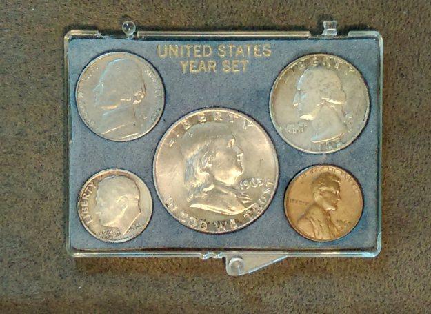 1963 coin set.