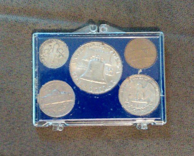 Coin set reverse, 1963.