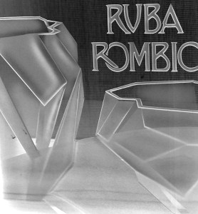 Ruba Rombic display sign, 1928.