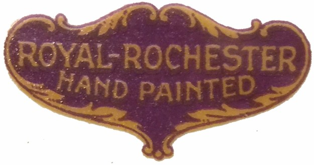 Royal Rochester label on the bottom of the batter bowl. 1928.