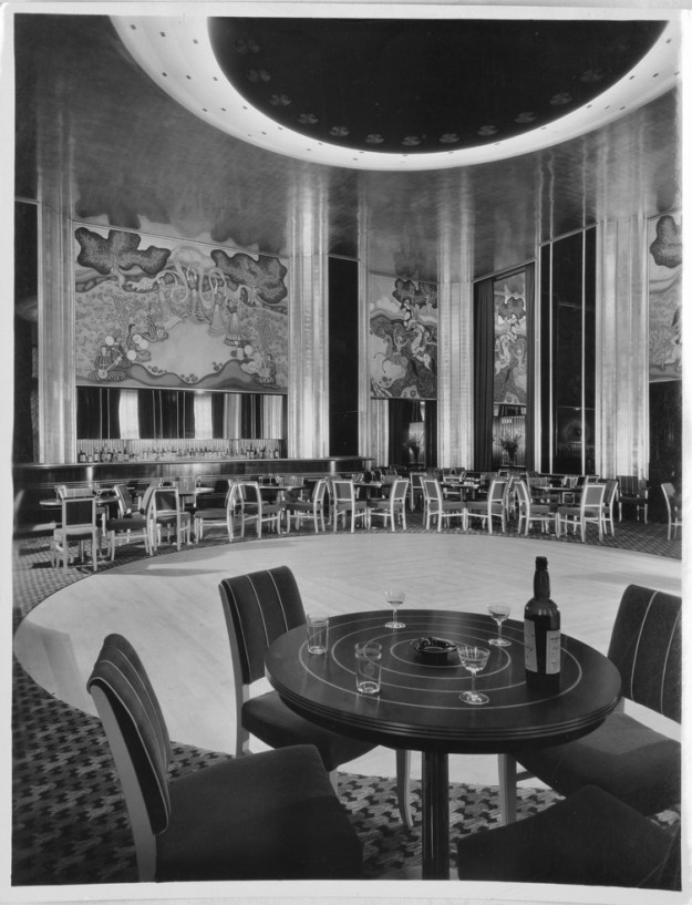 The Persian Room in the Plaza Hotel