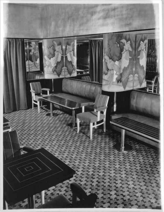 Entrance to the Persian Room, 1934.