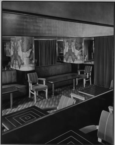 Entrance way to the Persian Room, 1934.