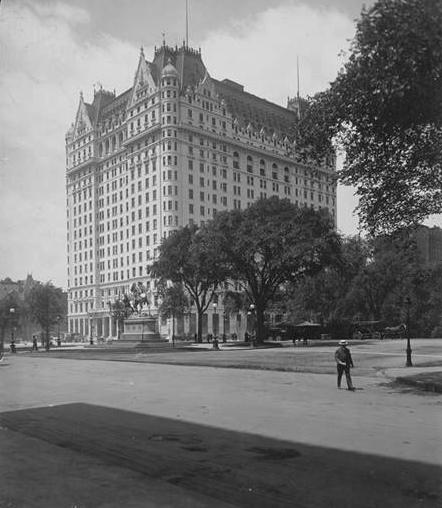 Plaza Hotel, 1907.