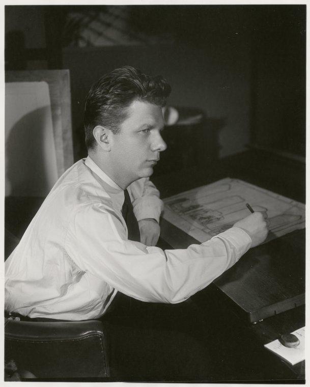 Norman Bel Geddes.