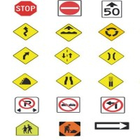 Interpreting Road Signs by Shape and Color