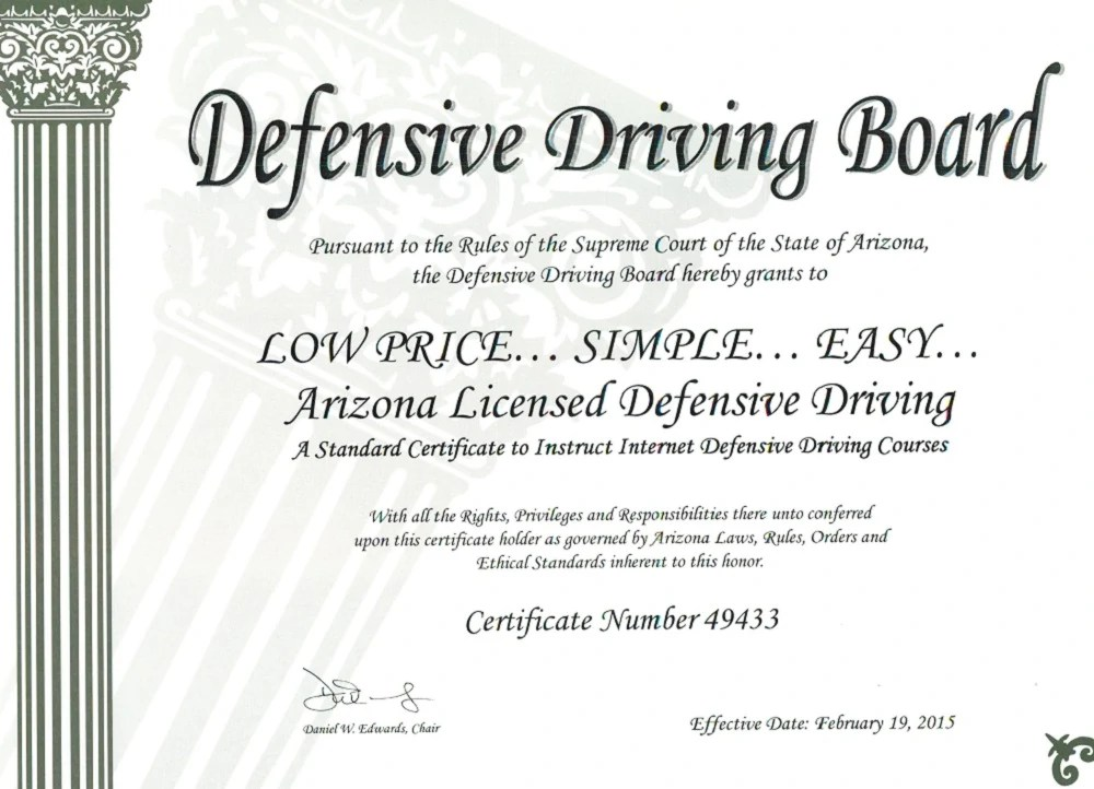 photograph regarding Defensive Driving Course Online With Printable Certificate known as Defensive Behind Texas Research: