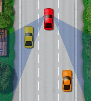 Car Blind Spot – Driving Test Tips