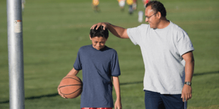 Image result for parent with young athlete