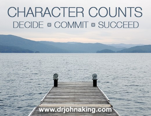 Character Counts #drjohnaking