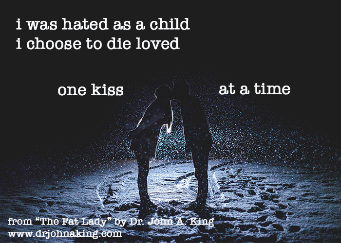 One Kiss #drjohnaking #poetry #noworkingtitle