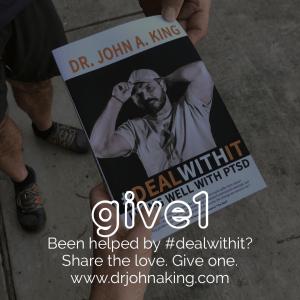 give1 #dealwithit drjohnaking PTSD