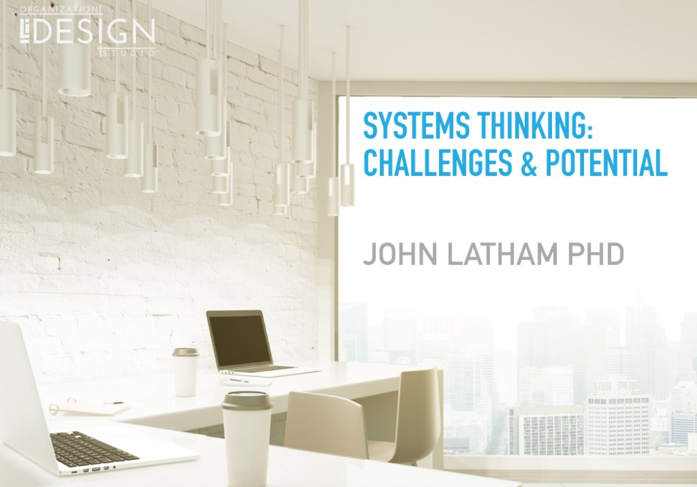 Systems Thinking: Challenges and Potential