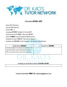 DrKaos Tutor Network profile -Michael J-page0001