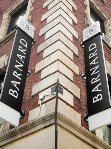 NEW YORK,USA - AUGUST 19,2015 : The Barnard liberal arts college in New York City