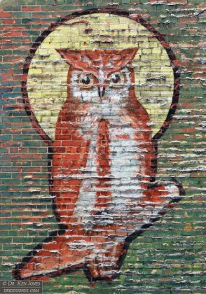 Owl Cigar (detail), New Kensington, Pennsylvania