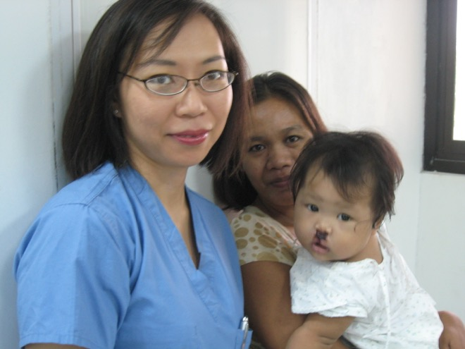 Baby After Cleft Surgery