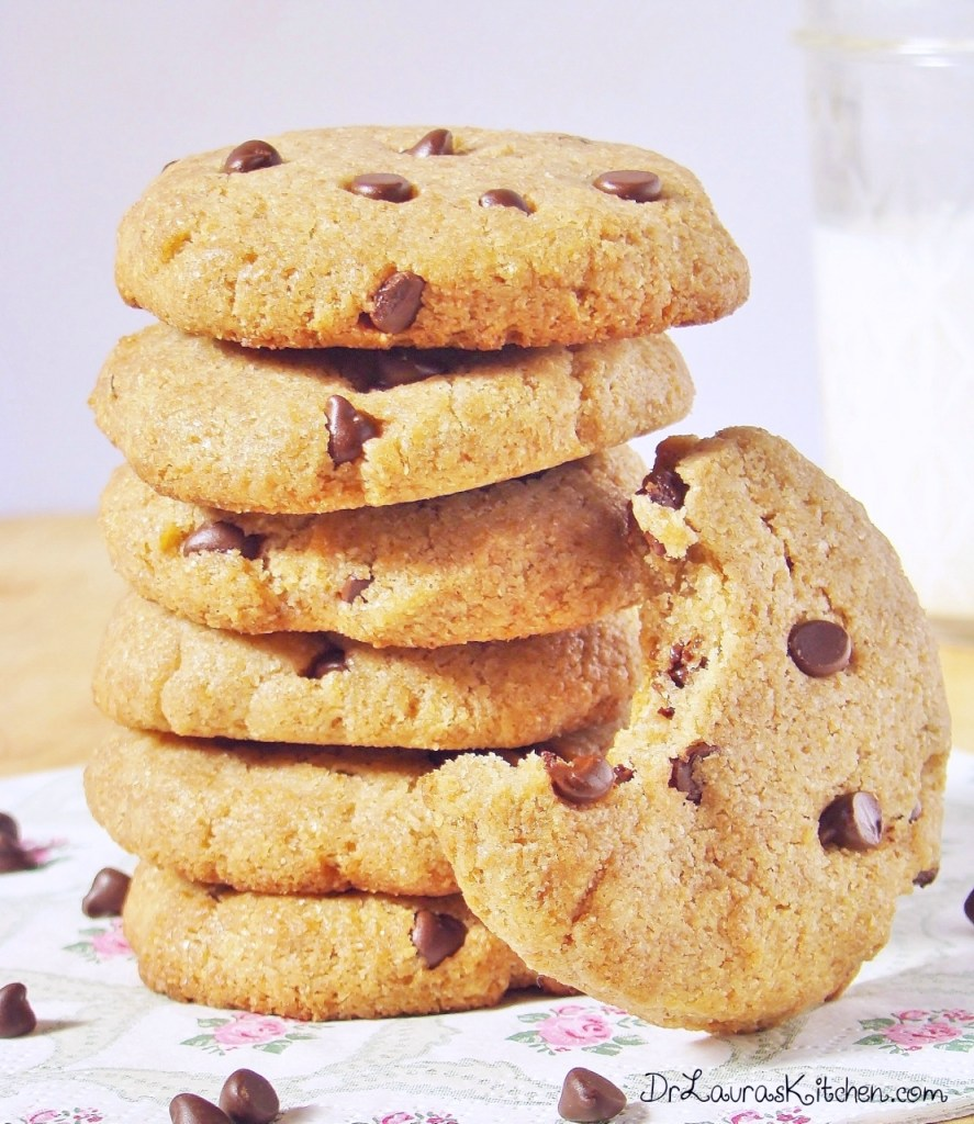 Sugar Free Chocolate Chip Cookies - Dr. Laura's Kitchen