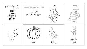 كتب الأحرف العربية