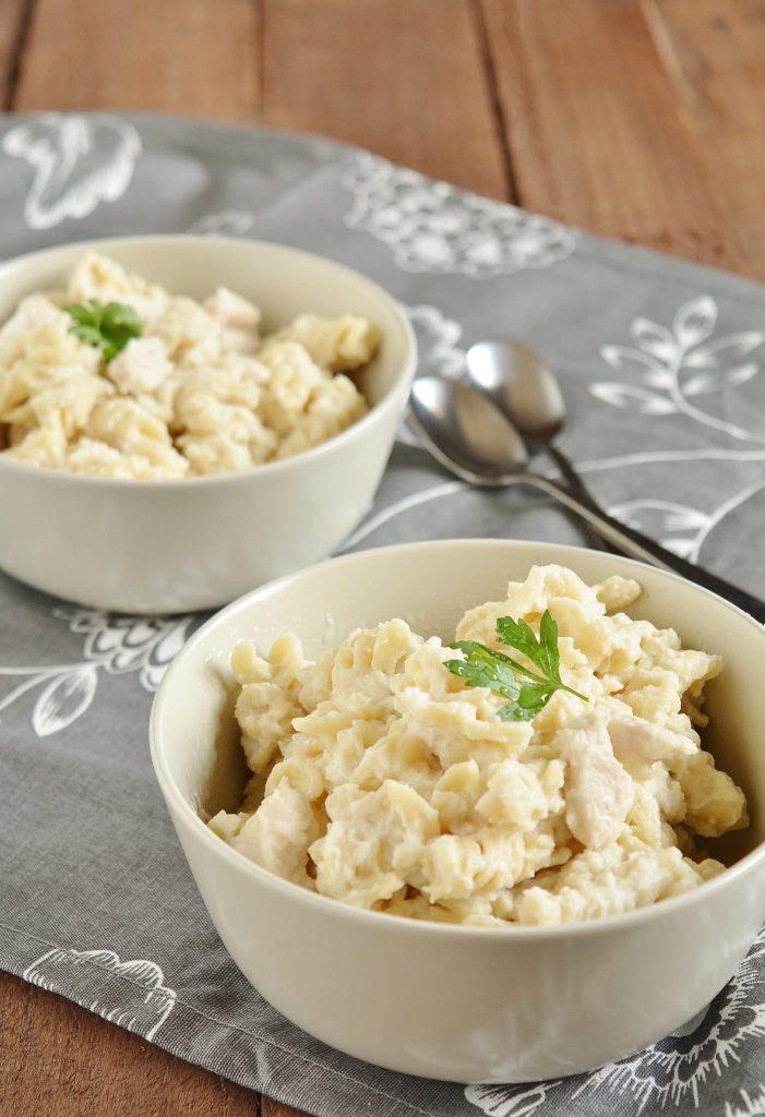 Creamy Hidden-Veggie Pasta