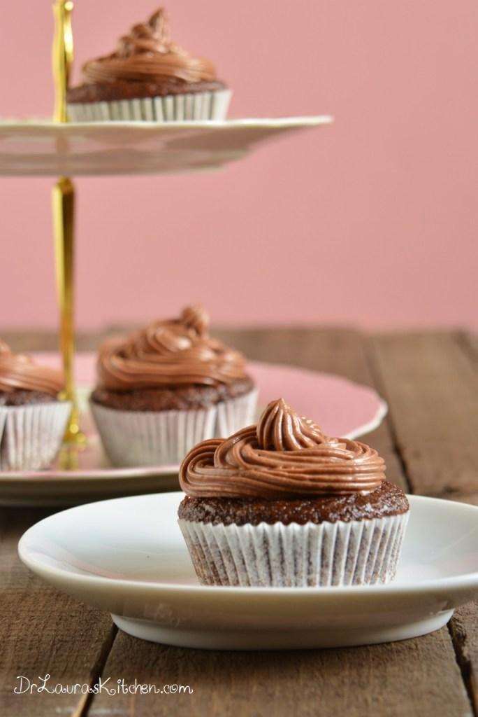 Secret Ingredient Chocolate Cupcakes