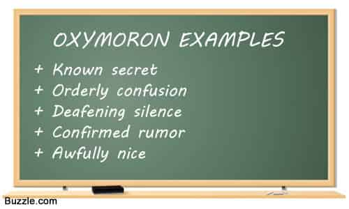 Oxymorons Examples in sentences, Funny & Common