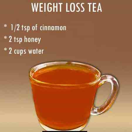 Weight Loss Tea: Reduce the stomach fat daily 1 cup of honey and cinnamon tea, Learn benefits and methods