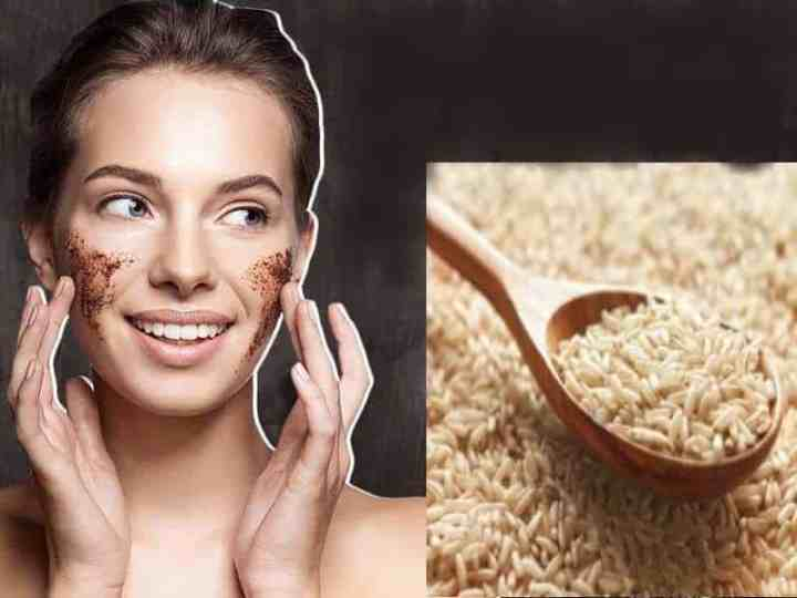 Brown Rice Benefits For Skin and Homemade Face Pack for Skin Whitening and Anti Ageing