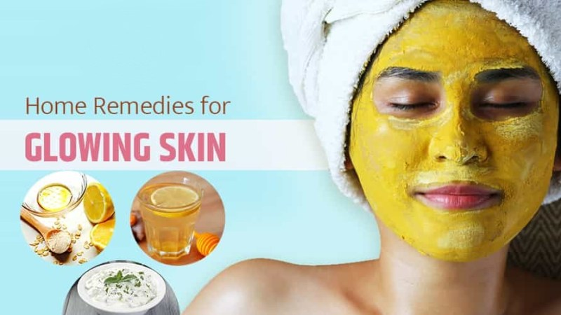 Home Remedies for Skin Glowing