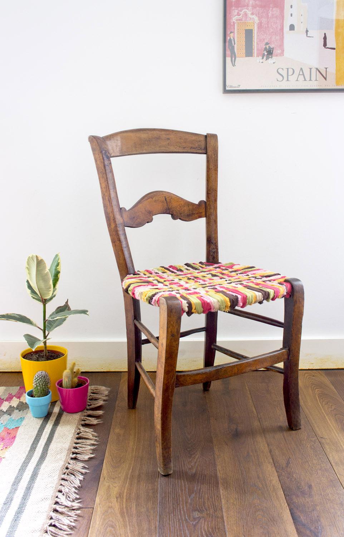 Renovar una silla con telas