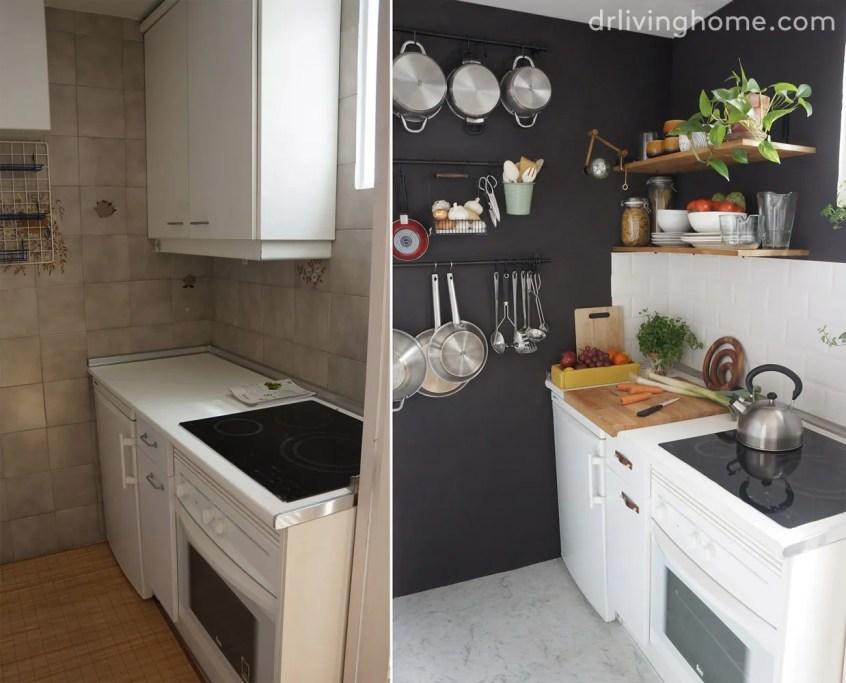 Alicatar cocina sobre alicatado