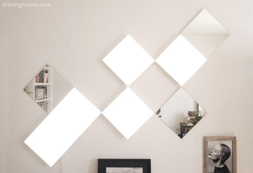 Una forma diferente de decorar la pared