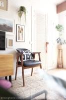 Cómo tapizar una silla en piel. Antes y después