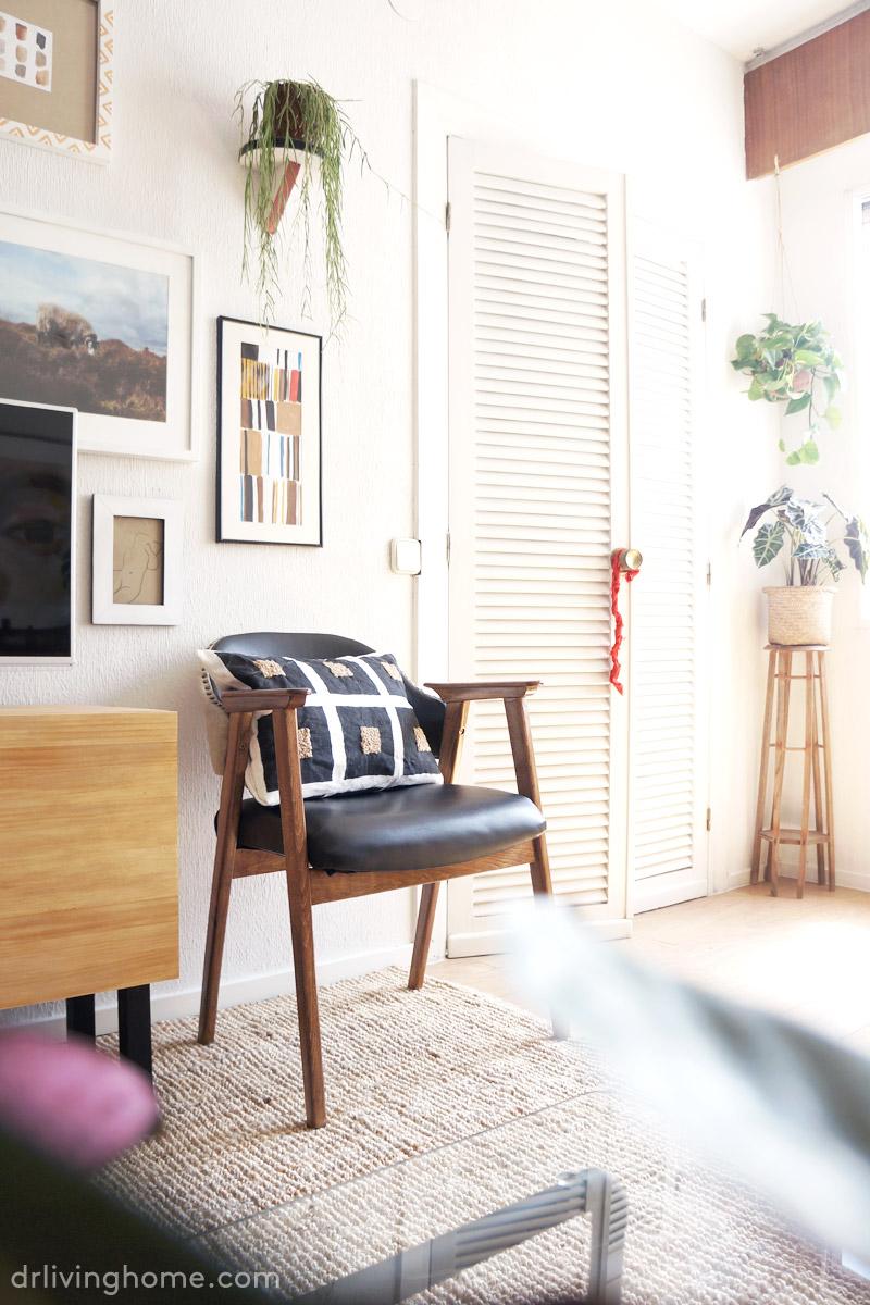 C mo tapizar una silla en piel antes y despu s for Blog de decoracion de casas