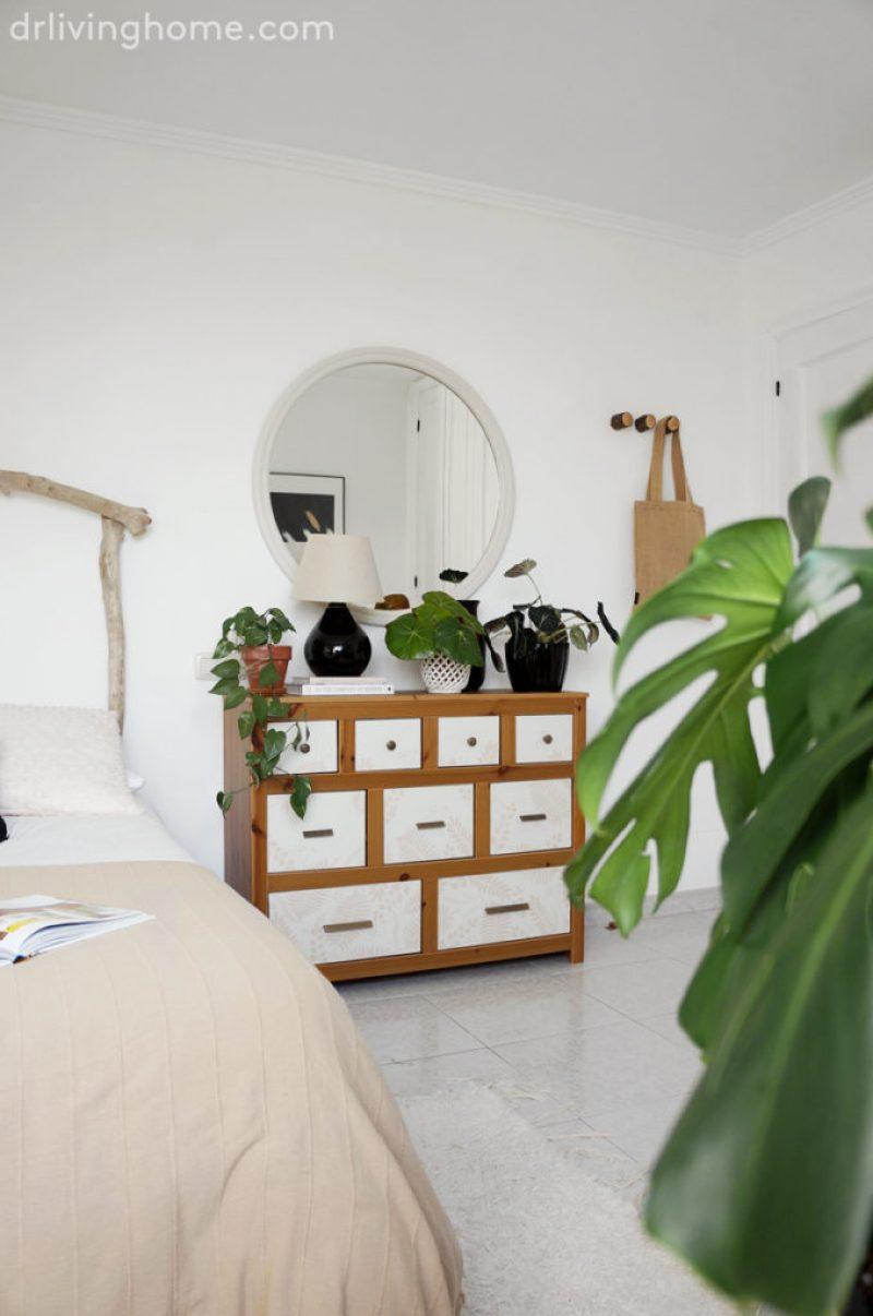 La decoración del dormitorio principal