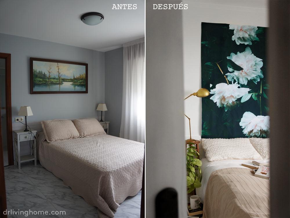 Tapestry dormitorio antes y después