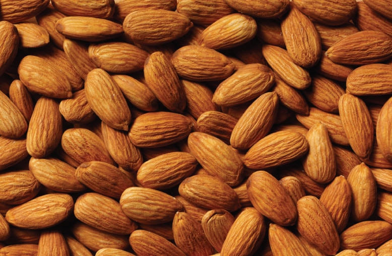 Raw Almonds are a great healthy, antioxidant-packed snack