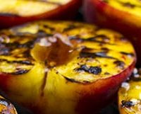grilled peaches feature