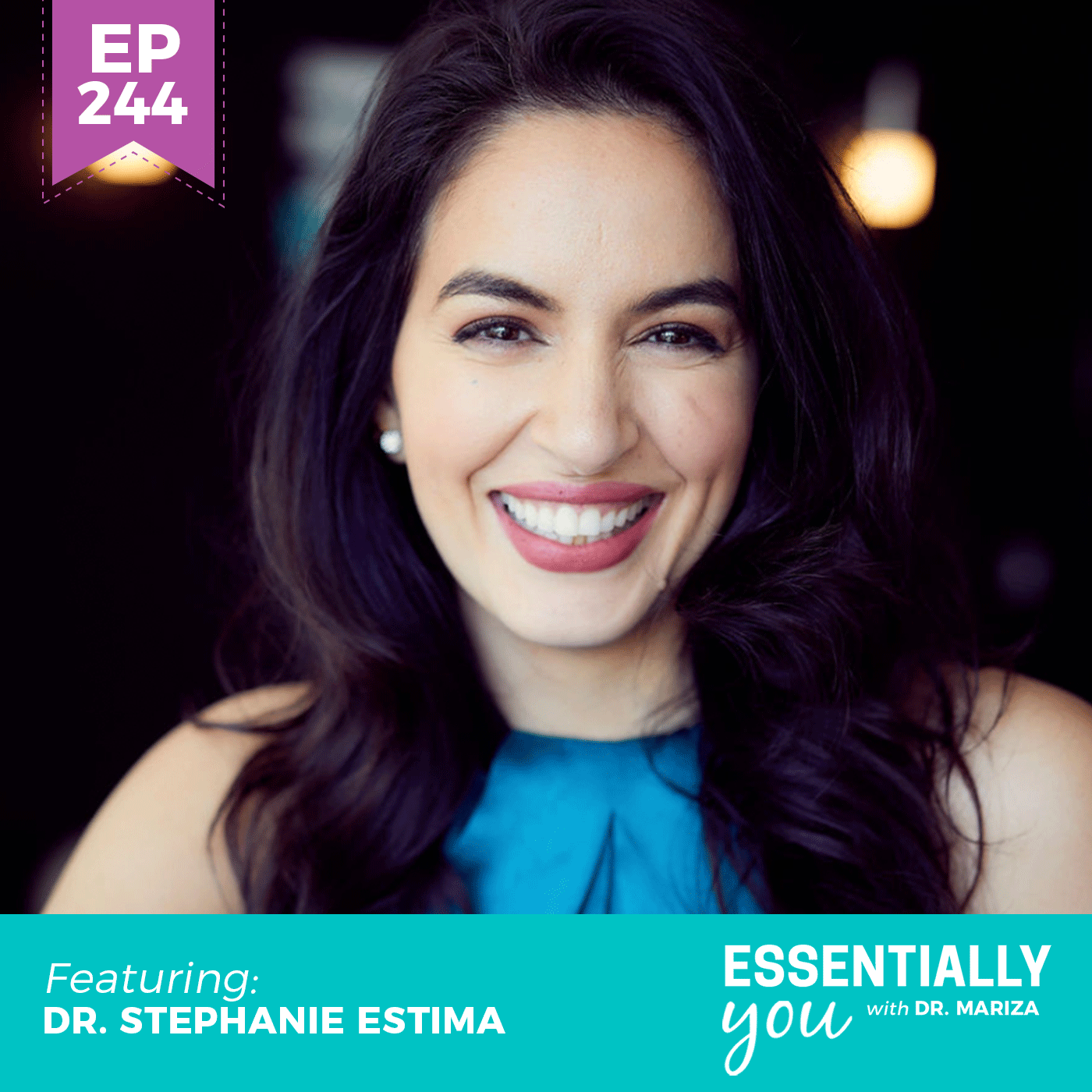 #244: How to Eat and Train According to Your Menstrual Cycle with Dr. Stephanie Estima